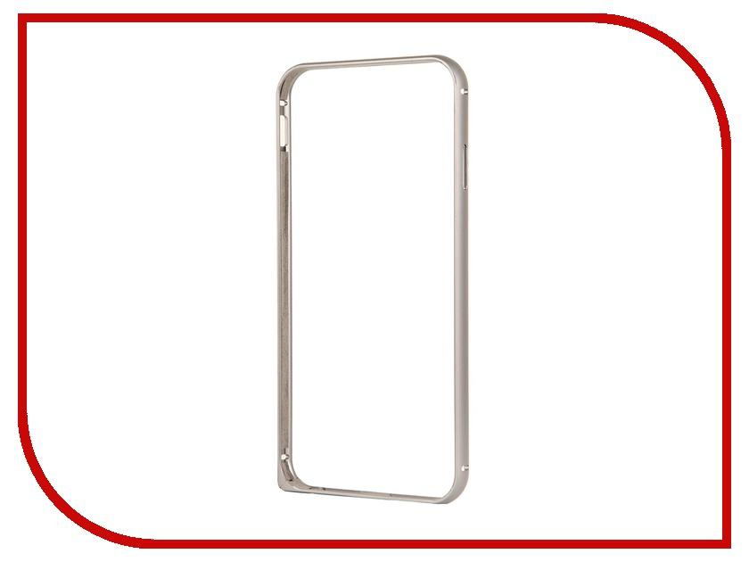 Аксессуар Чехол Deppa Alum Bumper для iPhone 6 Graphite<br>