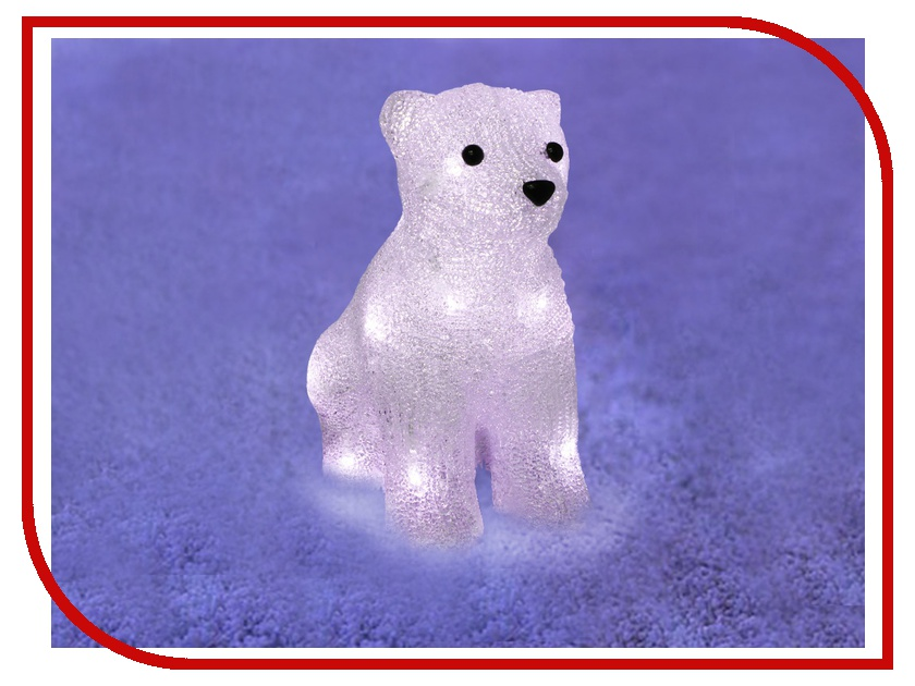 Новогодний сувенир Neon-Night Медвежонок 513-313<br>