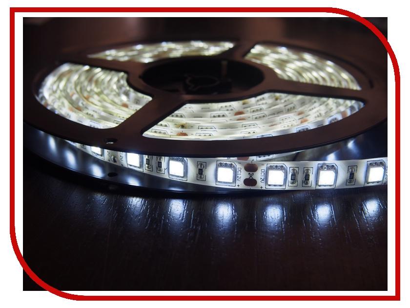 Светодиодная лента Neon-Night SMD 3528 60led/m 12V 24W 5m IP65 White 141-355-0