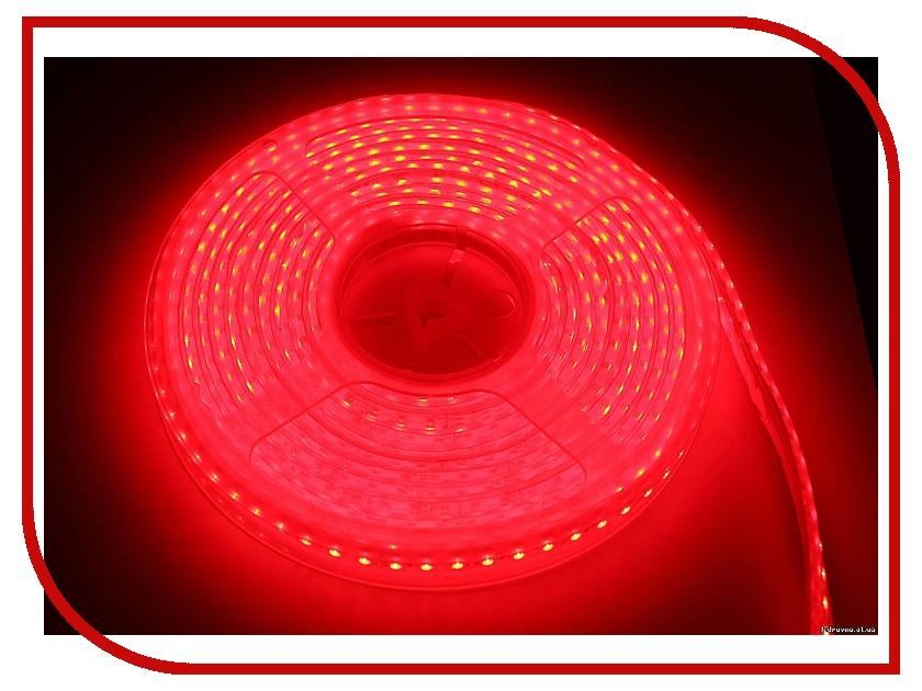 Светодиодная лента Neon-Night SMD 3528 60led/m 12V 24W 5m IP65 Red 141-351-0