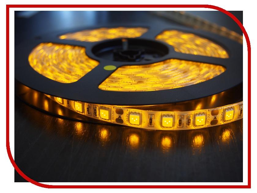Светодиодная лента Neon-Night SMD 3528 60led/m 12V 24W 5m IP23 Yellow 141-332-0<br>