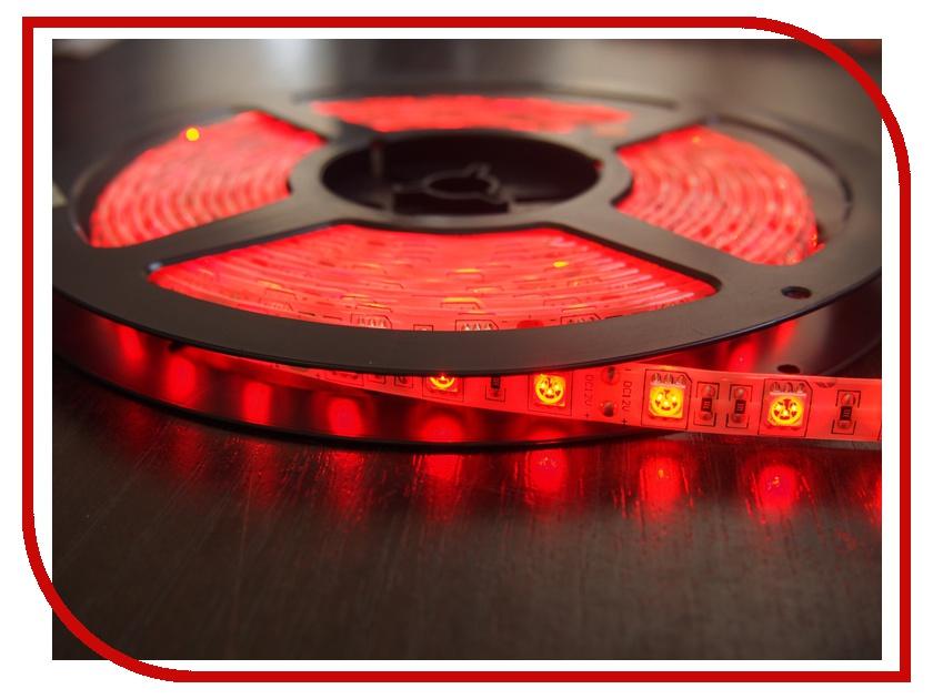 Светодиодная лента Neon-Night SMD 3528 60led/m 12V 24W 5m IP23 Red 141-331-0<br>