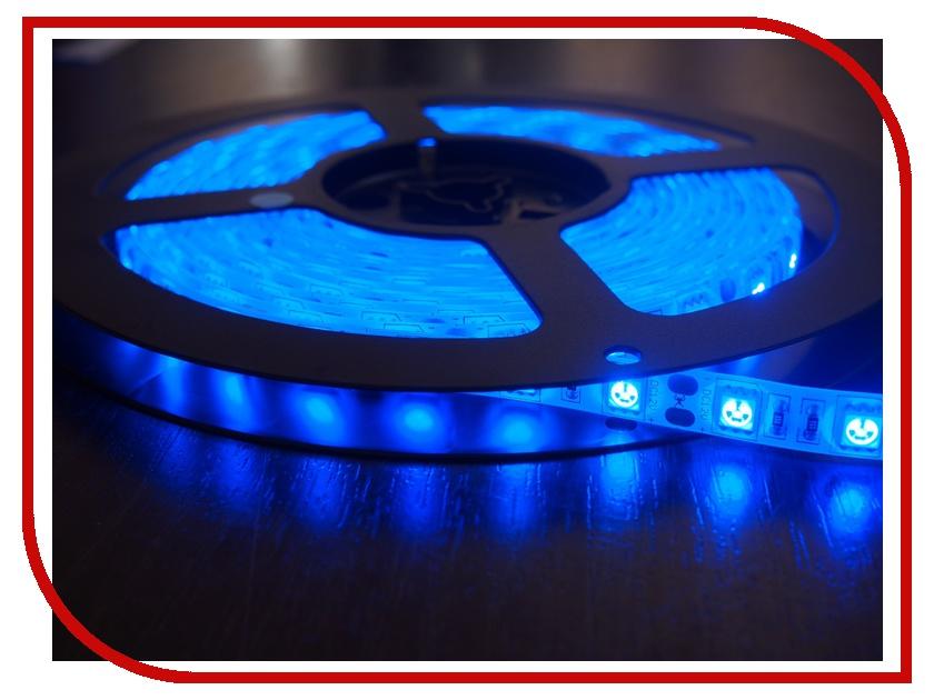 Светодиодная лента Neon-Night SMD 3528 60led/m 12V 24W 5m IP23 Blue 141-333-0