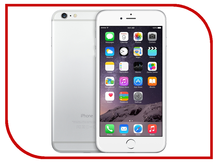Сотовый телефон APPLE iPhone 6 - 16Gb Silver MG482RU/A<br>
