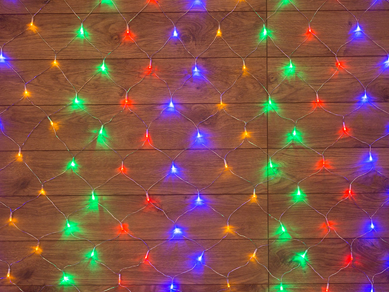 Гирлянда Neon-Night Сеть 1x1.5m 96 LED Multicolor 215-119-6