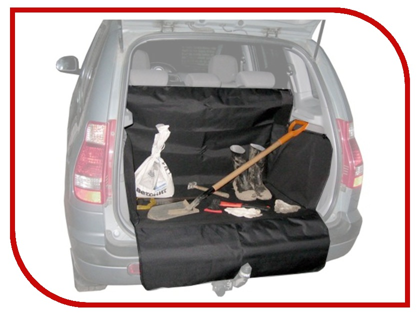 Аксессуар Comfort Address DAF-022 Black - защитная накидка в багажник