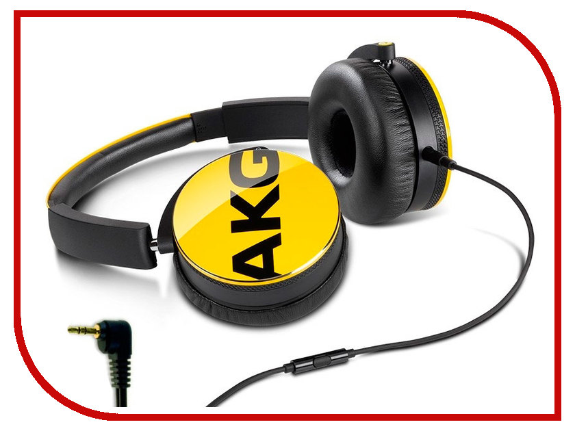 Гарнитура AKG Y50 Yellow akg ec81 md beige