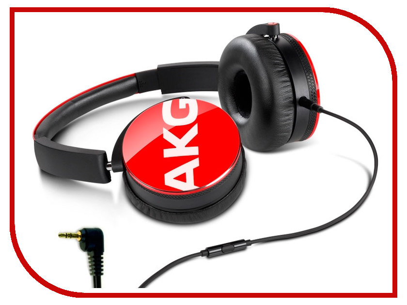 AKG Y50 Red наушники akg y50 turquoise