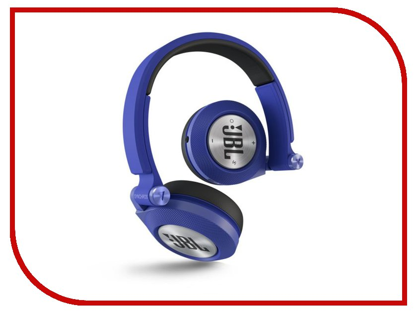 Гарнитура JBL Synchros E40BT Blue jbl synchros e30 black
