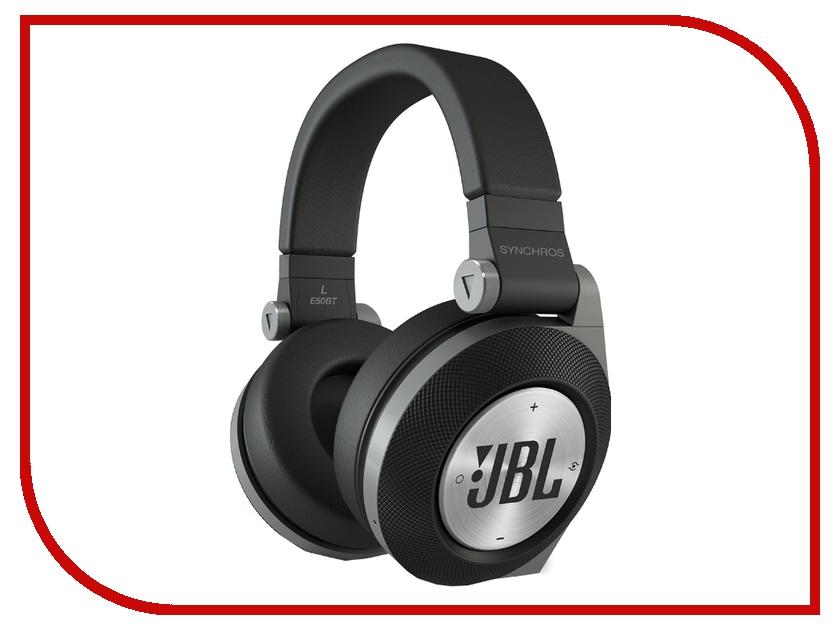 Гарнитура JBL Synchros E50BT Black<br>