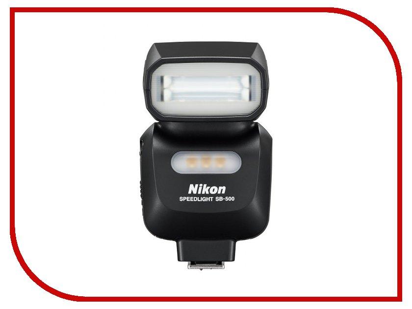 Вспышка Nikon Speedlight SB-500 цифровая фотокамера nikon speedlight sb n7 черный fsa90901
