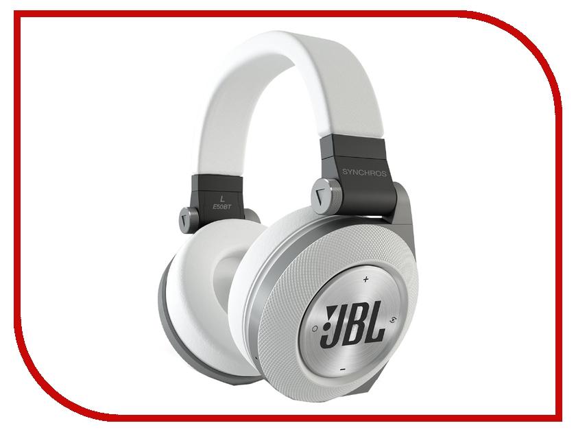 JBL Synchros E50BT White jbl synchros reflect bt sport