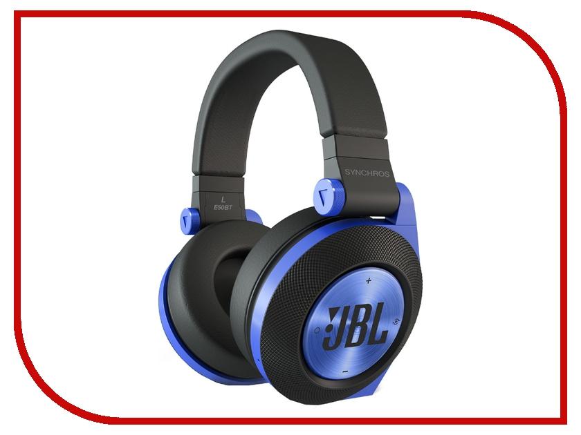 Гарнитура JBL Synchros E50BT Blue<br>