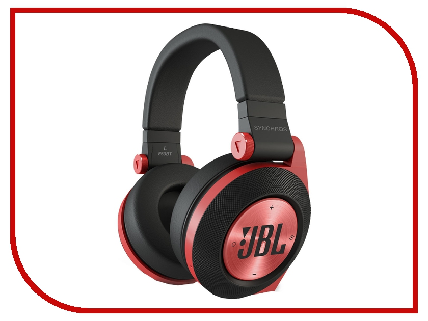 Гарнитура JBL Synchros E50BT Red<br>