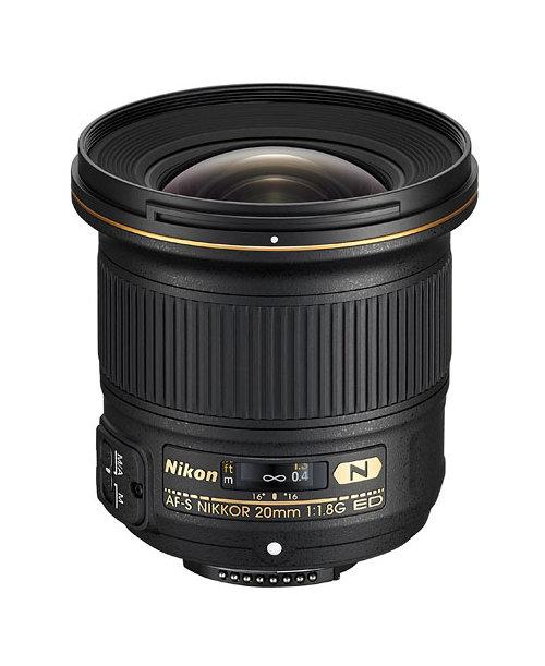 Фото - Объектив Nikon 20mm f/1.8G ED AF-S Nikkor кухонная мойка blanco zenar 45 s f infino алюметаллик 523821