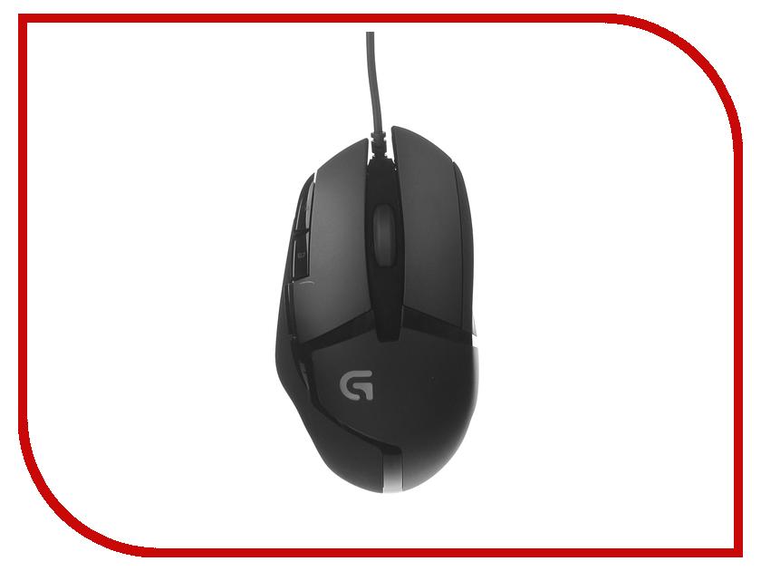 Мышь проводная Logitech G402 Black USB 910-004067<br>