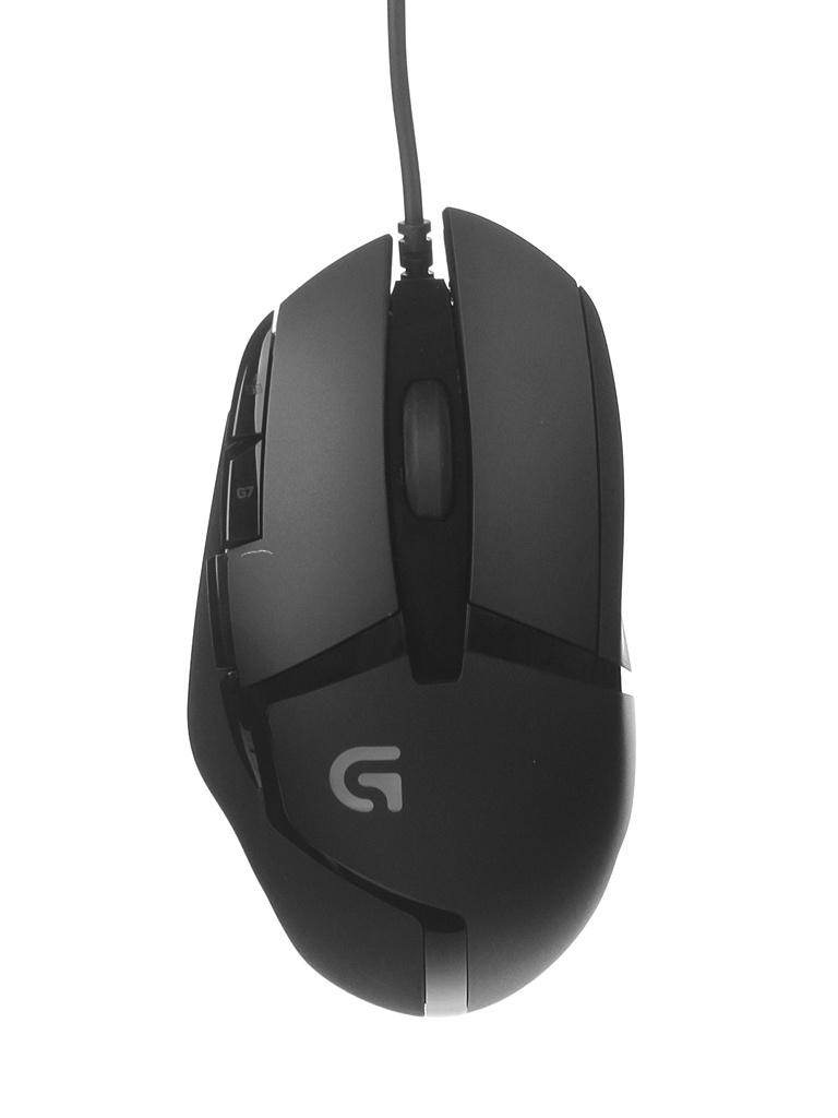 Мышь Logitech G402 Black USB 910-004067