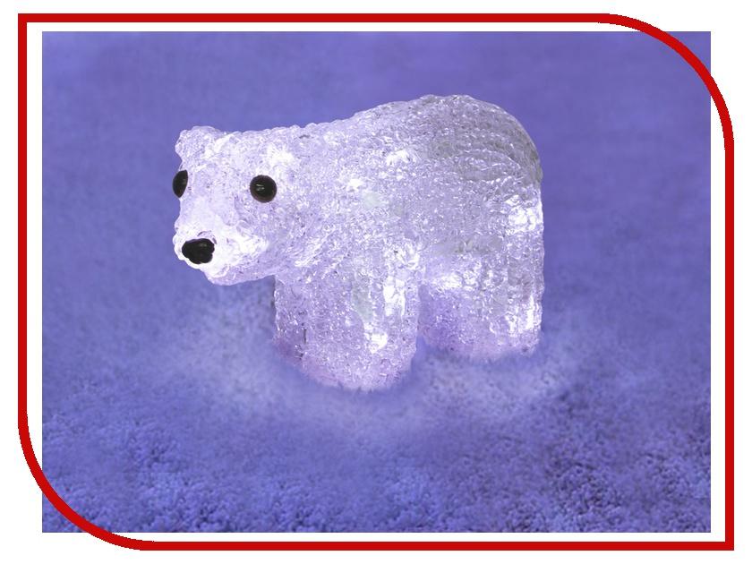 Новогодний сувенир Neon-Night Белый мишка 513-252