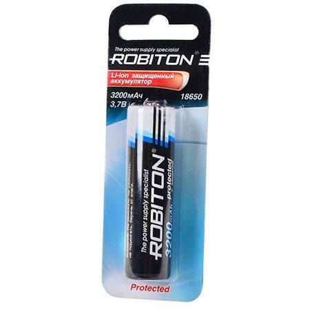 Аккумулятор Robiton 18650 3.7V 3200mAh 12174
