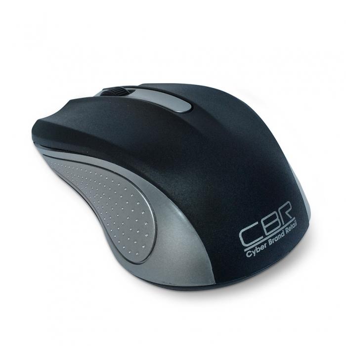 Мышь CBR CM-404 USB Silver