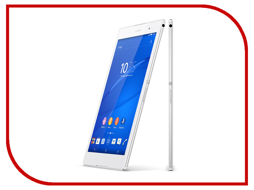 Планшет Sony Xperia Z3 Tablet Compact 16Gb LTE/4G Wi-Fi SGP621RU/W White Qualcomm Snapdragon 801 2.5 GHz/3072Mb/16Gb/LTE/4G/Wi-Fi/Bluetooth/Cam/8.0/1920x1200/Android