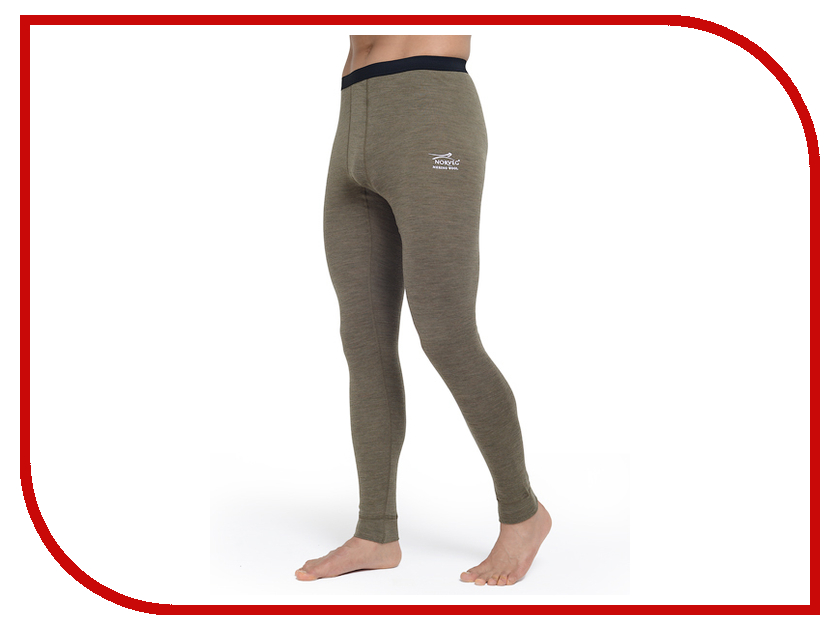 Кальсоны Norveg Soft Pants Размер XL 3229 14SM003-009-XL Khaki мужские