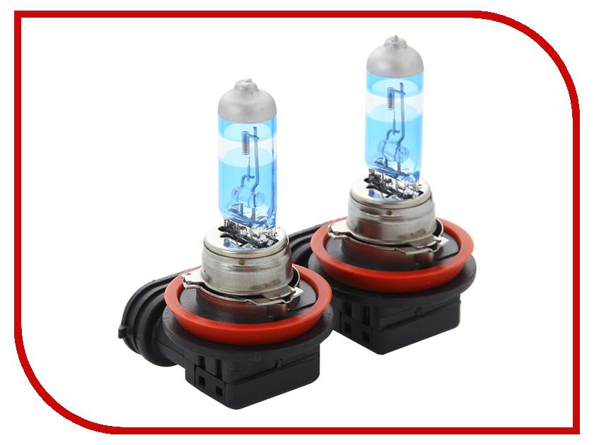 Лампа MTF Light H-11 12V 55W Argentum +80% (2 штуки)