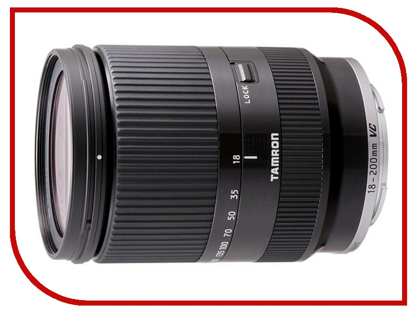 Объектив Tamron AF 18-200mm f/3.5-6.3 Di III VC Canon EF-M<br>