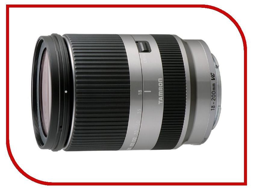 Объектив Tamron Canon AF 18-200 mm f/3.5-6.3 Di III VC Silver<br>