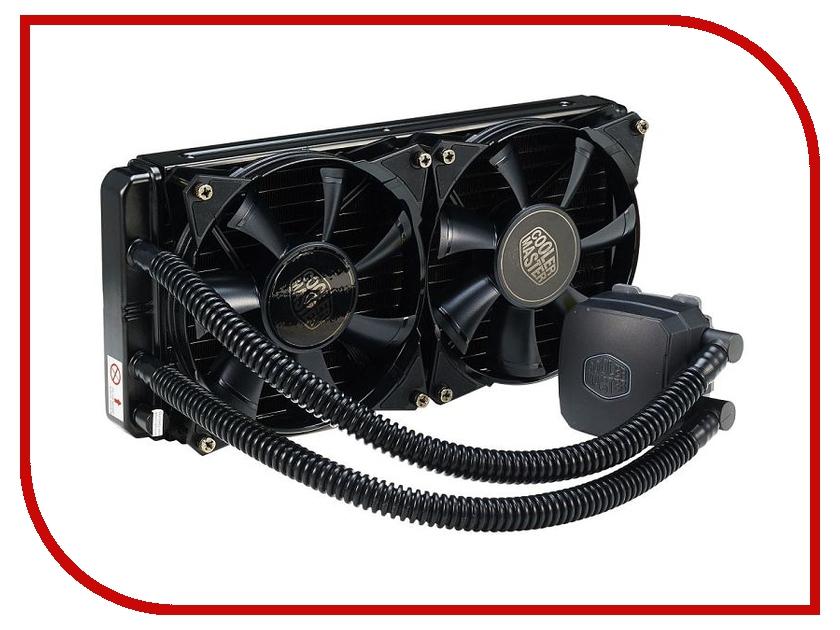 Водяное охлаждение Cooler Master RL-N28L-20PK-R1 (Intel LGA2011/LGA1366/LGA1356/LGA1150/LGA1155/LGA1156/LGA775/AMD FM1/FM2/FM2+/AM2