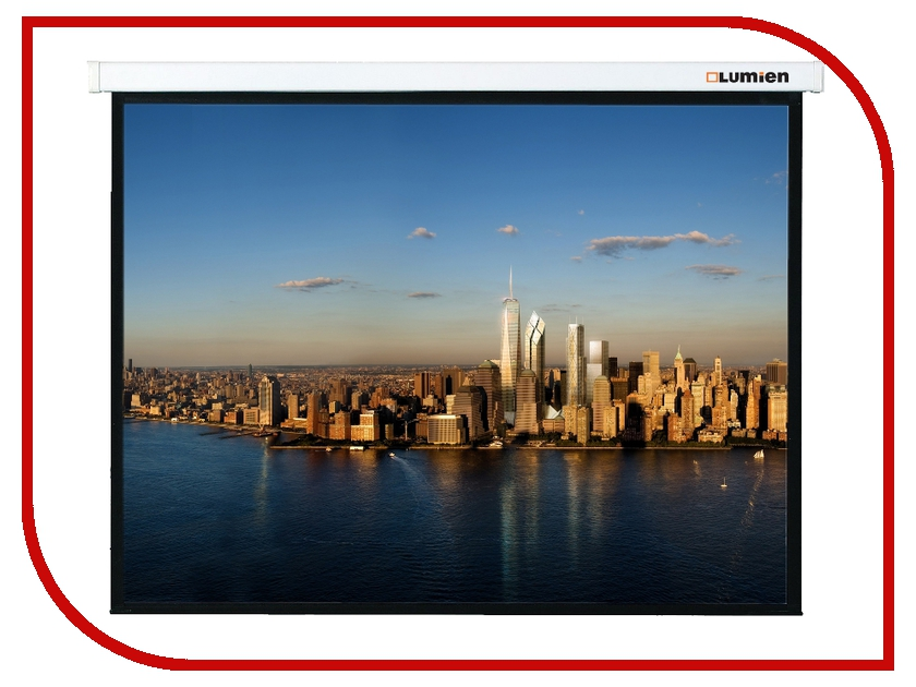 Экран Lumien Master Picture LMP-100132 129x200cm Matte White Fiber Glass