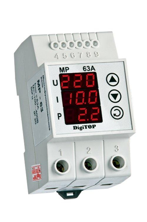 Реле контроля напряжения Digitop MP-63A