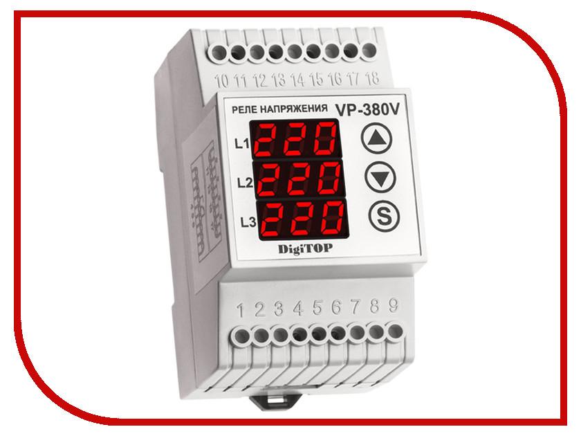 Реле контроля напряжения Digitop Vp-380 реле напряжения v protector 40a