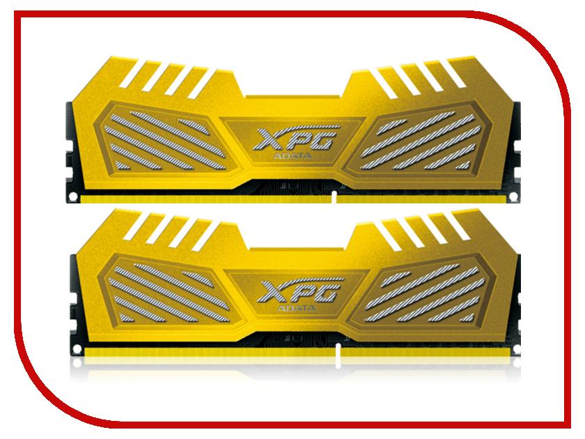 Модуль памяти A-Data XPG V2 PC3-20800 DIMM DDR3 2600MHz CL11 - 8Gb KIT (2x4Gb) AX3U2600W4G11-D*V<br>