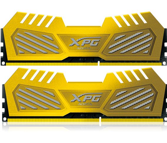 Модуль памяти A-Data XPG V2 PC3-20800 DIMM DDR3 2600MHz CL11 - 8Gb KIT (2x4Gb) AX3U2600W4G11-D*V<br>