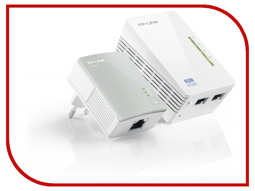 Powerline адаптер TP-LINK TL-WPA4220KIT