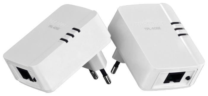 Powerline адаптер TRENDnet TPL-406E2K