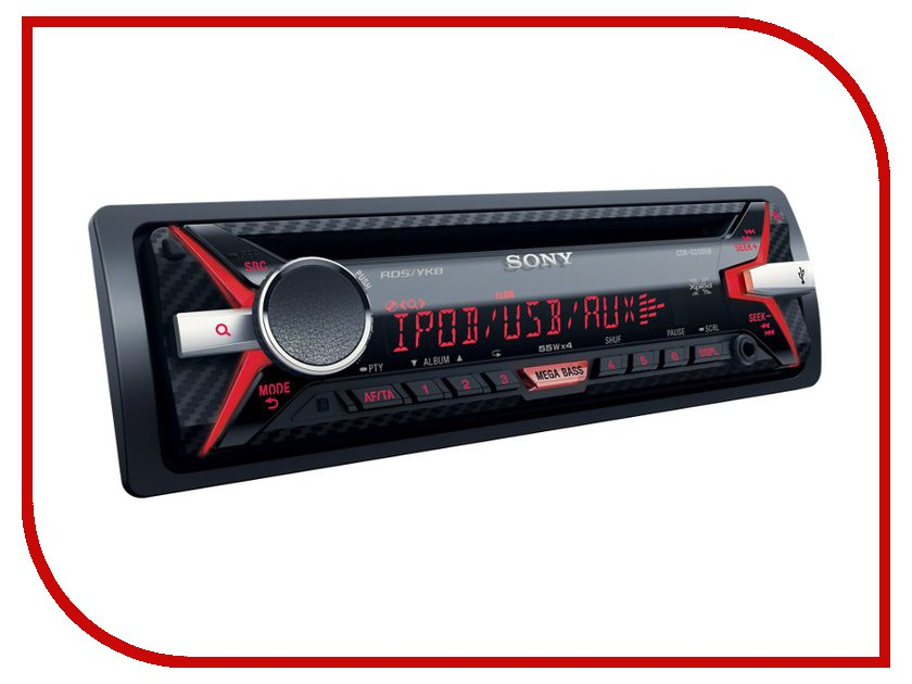 Автомагнитола Sony CDX-G3100UE<br>