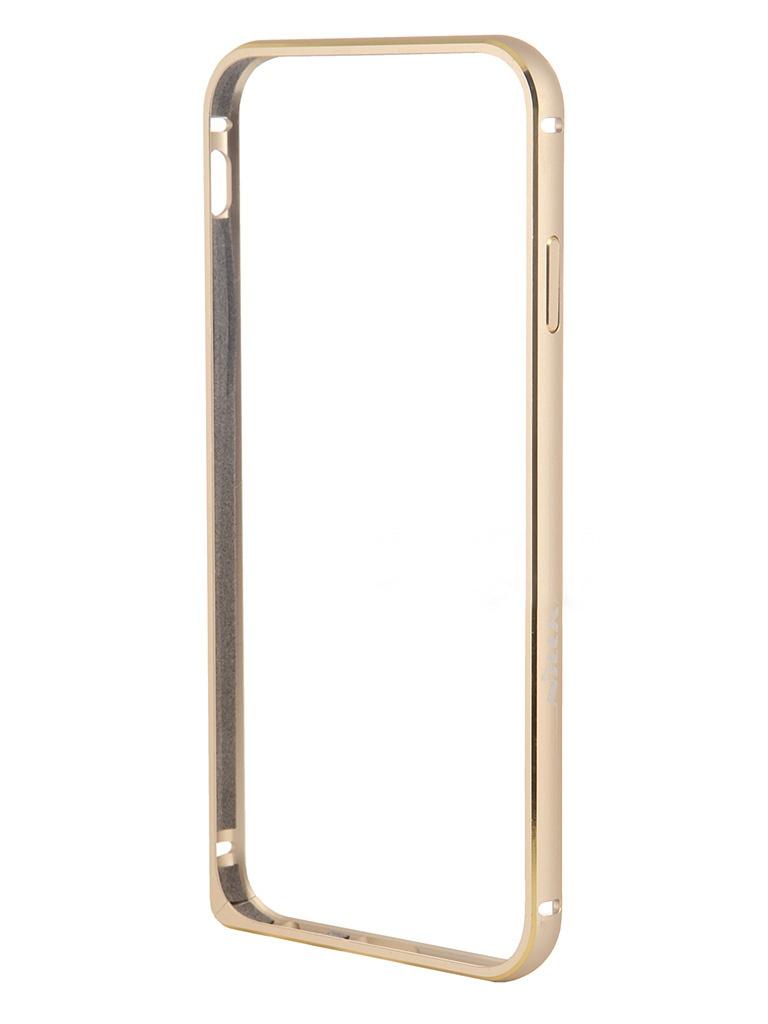 Аксессуар Чехол-бампер Nillkin Border for iPhone 6 Gold T-N-iPhone6-015