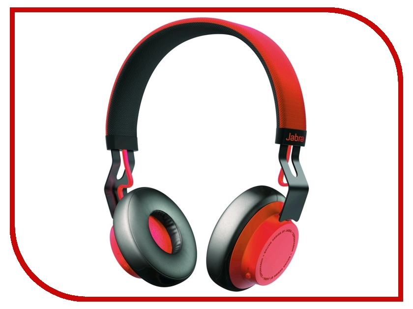 Гарнитура Jabra Move Red bluetooth гарнитура jabra jabra move синий cobalt
