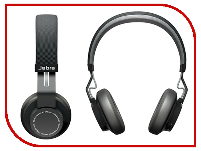 Гарнитура Jabra Move Black bluetooth гарнитура jabra jabra move синий cobalt