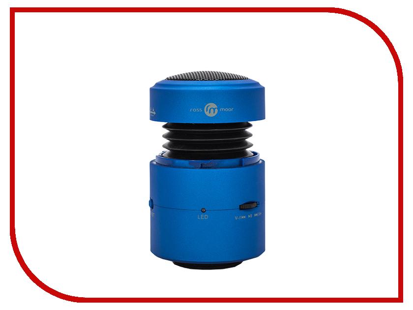 Колонка Ross&Moor Nanobeat 10W Bluetooth Blue кеды jessy ross jessy ross je016awsoa41