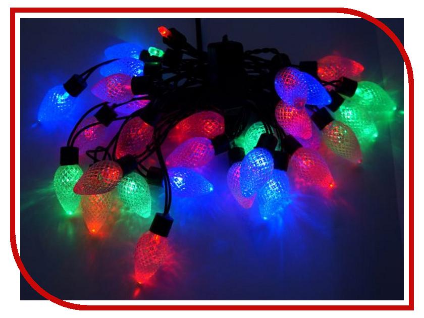 Гирлянда Новогодняя Сказка Шишки 30 LED 971208 гирлянда новогодняя сказка сердце 52 led 971214 multicolor