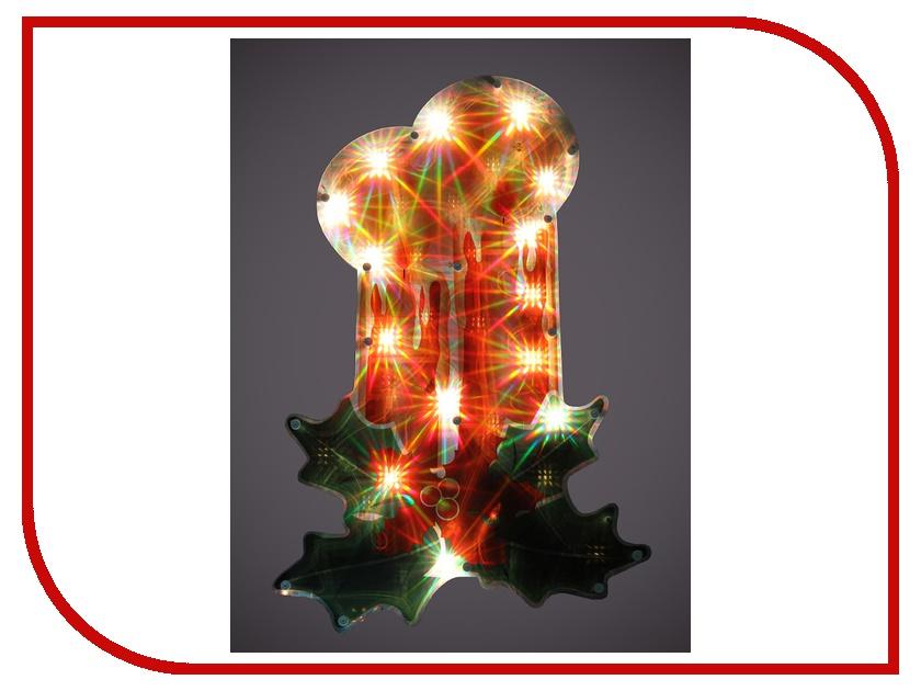 Новогодний сувенир Новогодняя Сказка Панно Свеча NS97800/97241<br>