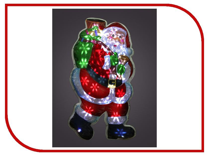 Световое пано Новогодняя Сказка Санта с подарками NS97783<br>
