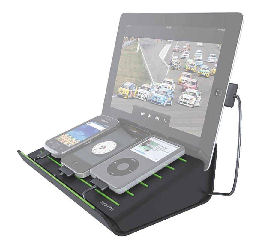 Аксессуар Док-станция Leitz Complete for iPhone/iPad/Tablet PC Black 62640095