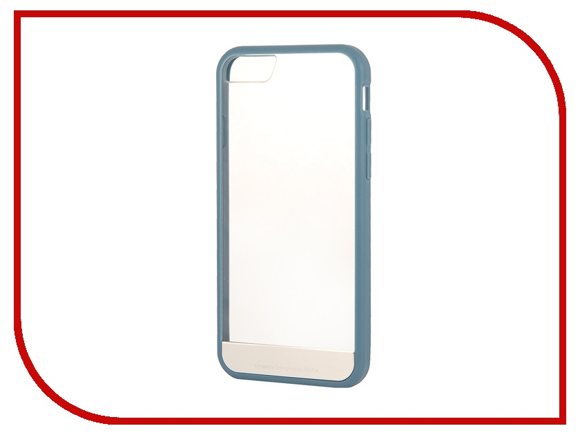 Аксессуар Чехол ROCK Enchanting Protective Shell for iPhone 6 Grey-Blue 68913<br>