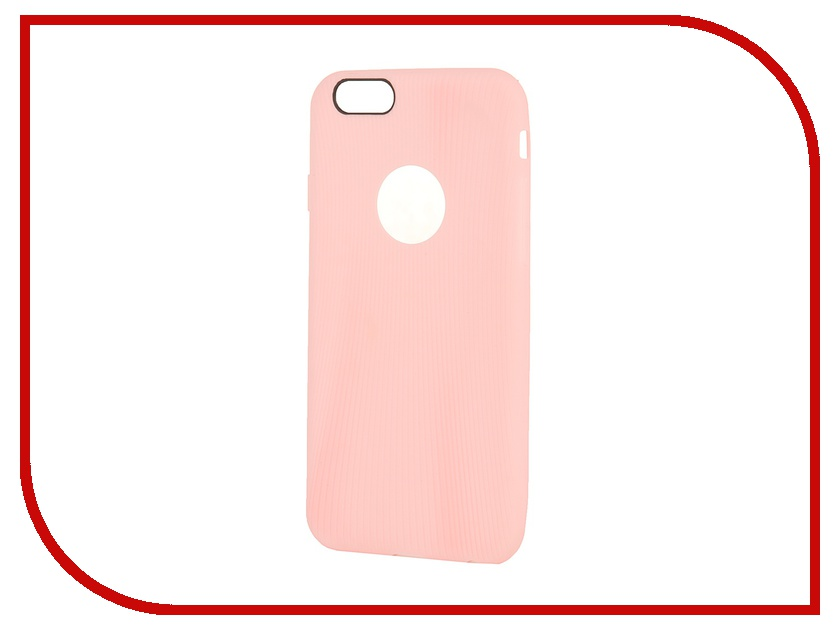 Аксессуар Чехол ROCK Melody Protective Shell for iPhone 6 Pink 69231 аксессуар чехол rock jello protective shell for iphone 6 white 69439