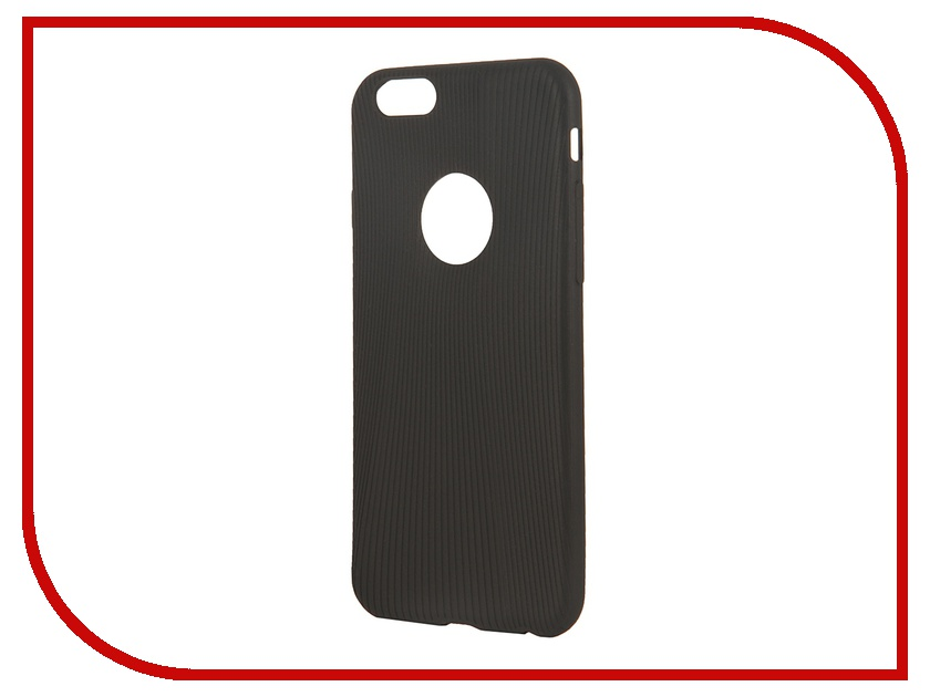 Аксессуар Чехол ROCK Melody Protective Shell for iPhone 6 Black 69217<br>