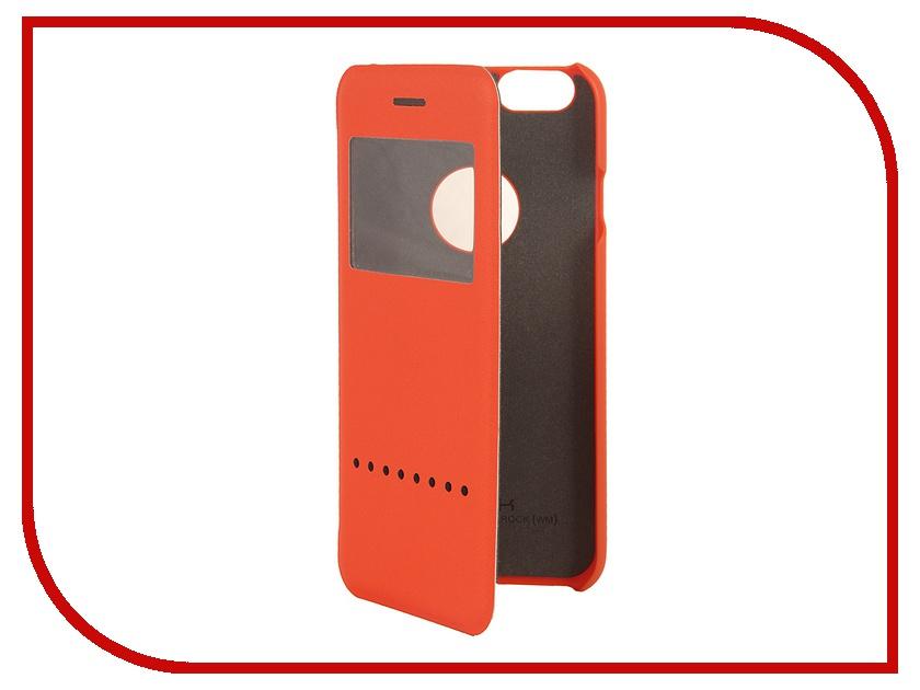 Аксессуар Чехол ROCK Rapid for iPhone 6 Orange 70053<br>